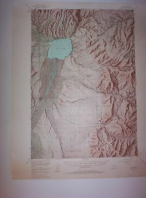 Ennis Montana, Madison County 1949 USGS original Topo chart map