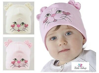 Baby Girls Hat Spring Summer Sun Hat Bonnet 0-12 Months
