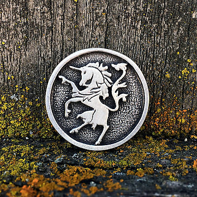 Renaissance Jewelry Gargoyle Pewter Pin Brooch Medieval Pin by Treasure Cast Pewter Handcrafted Jewelry