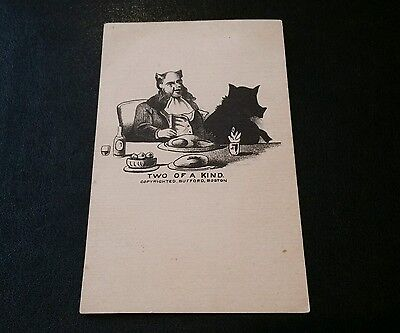 "Antique Victorian Trade? Card ""Two of a Kind"""