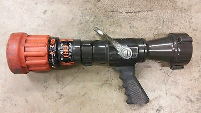 Elkhart Chief Combination Fire Hose Nozzle