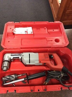 """Milwaukee 1107-1 1/2"""" Corded Right Angle Drill In Case"""