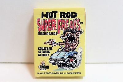 1999 Dekay Cards Hot Rod Super Freaks 44 Card Set w/ Box (Odd Rods Style)