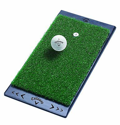 NEW Golf Callaway Ft Launch Zone Hitting Mat with True-turf Surface In Green