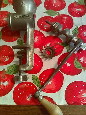 Vintage Meat Grinder Universal No 2 Made In Usa