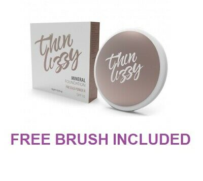Thin Lizzy Mineral Foundation SPF10 10g w/ Free Brush Included