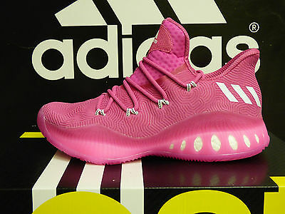 NEW AUTHENTIC ADIDAS SM Crazy Explosive Low BCA Basketball shoes - Pink; BY3151