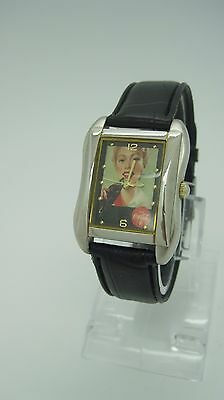 Collectible Coca-Cola Unisex Quartz Watch Girl 2003 Stainless Steel Black Band