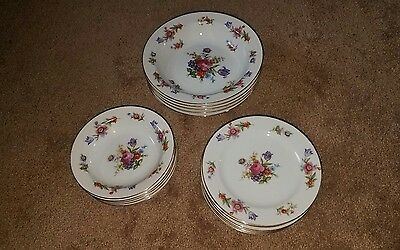 Lot of 16 Vintage Sango China Made In Occupided Japan