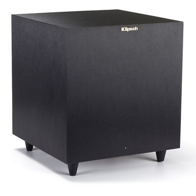 "Klipsch R-8SW Active Subwoofer Speaker 150W 8"" Down Firing Sub for Home Theatre"