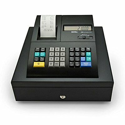 """New Electronic Cash Register With Dual LCD Displays """"Royal 210DX B1"""", ID System"""