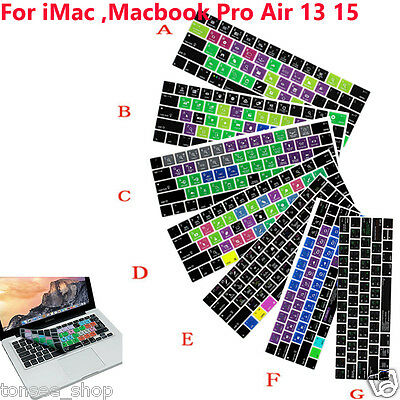 Logic Pro X Hot Shortcut key Tastatur Cover Skin für iMac, Macbook Pro 13'' 15''
