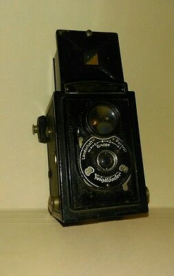 Voigtlander Vintage Brilliant Box Camera  * Made in Germany