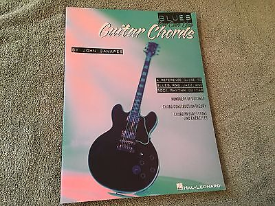 Blues You Can Use Guitar Chords by John Ganapes 1996 Hal Leonard Songbook