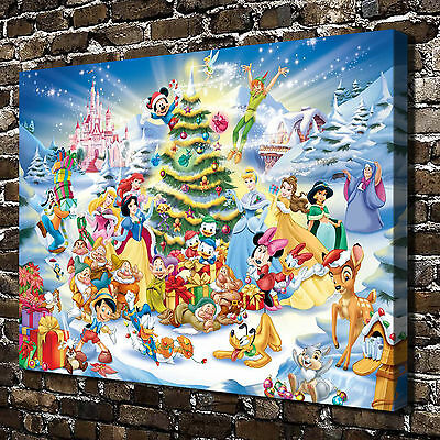 """12""""x18""""Disney characters star Paintings HD Print on Canvas Home Decor Wall Art"""