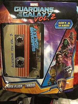Guardians Of The Galaxy Volume 2 Super Plush Throw. Brand New. 48 Inch X 60 Inch