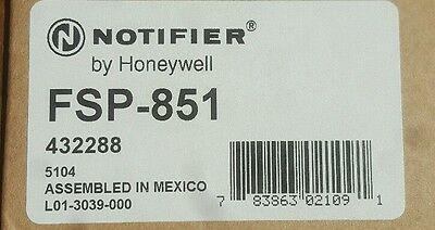 Brand New, Notifier Fsp-851 Smoke Detector. Never Been Used. Free Shipping!!