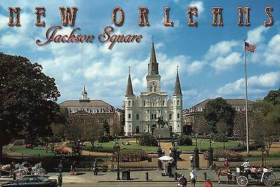 """"""" New Orleans """" - Postcard of the Month Club 1-Year Subscription Christmas Gift"""