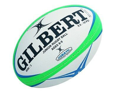 * NEW * Gilbert Pathways Junior Rugby Ball (Size 3 Mini)
