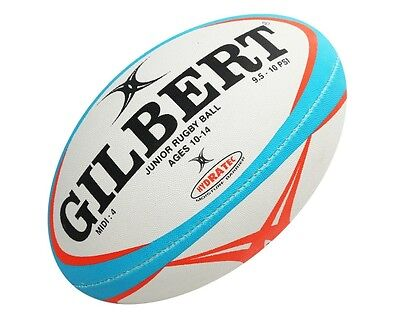 * NEW * Gilbert Pathways Junior Rugby Ball (Size 4 Midi)