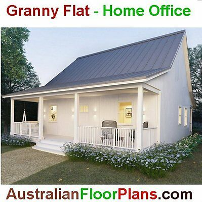 2 Bedroom Construction Floor Plans - Cottage - Granny Flat - Retirement home