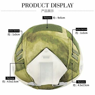 8 Colors Army Soldier Fancy Camo Assault Helmet Tactical CS Wargame Helmet Cover