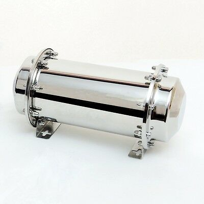 """13.4"""" Stainless Steel Time Capsule Waterproof Container Storage Future Gift Buri"""