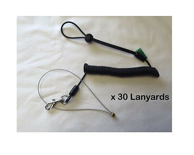Pack of 30 x Q Tools Scaffolding Tools Safety Lanyards - Latest Design