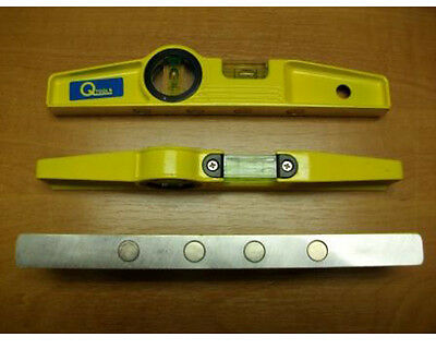 Q-Tools 4 Magnet Scaffolding Spirit Level - Latest Design