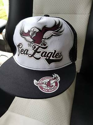 Manly Sea Eagles - Cap / Hat - Nrl - New - Style 2