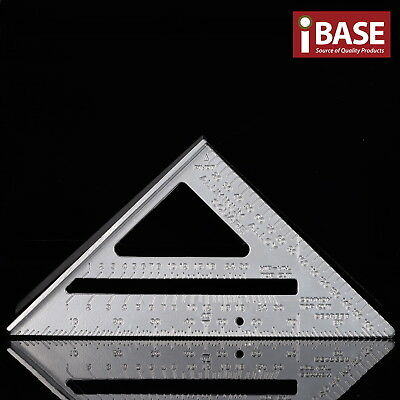 Aluminum Alloy Protractor Miter Triangle Speed Square Measurement Carpenter