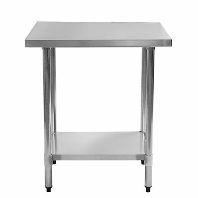 """NEW! Stainless Steel Commercial Kitchen Work Prep Equipment Table - 24"""" x 30"""" US"""