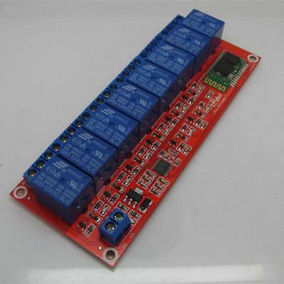 5V,12V,24V Multi-function Bluetooth Remote Control 8 Channel Relay Module New
