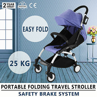 Babysing Baby Umbrella Stroller Portable Quick Folding Lightweight Travel Pram