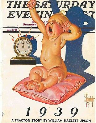 The Saturday Evening Post  December 1 1938 J C Leyendecker  Vintage Americana