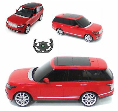York 1:14 Scale Range Rover Vogue Remote Control Car in Red