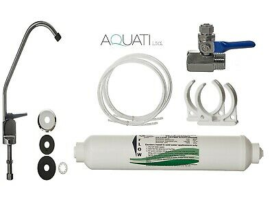 TAP DRINKING WATER FILTER SYSTEM WITH FAUCET & ACCESSORIES UNDER SINK KIT Aquati