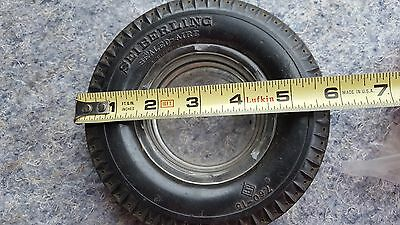 Vintage Seiberling Tire Ashtray Advertising