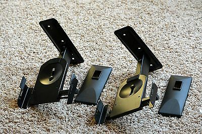 VideoSecu Speaker Wall Mount Mounting Bracket Tilt and Swivel MS56B