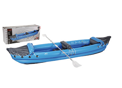2 Person Inflatable Canoe Paddles NEW Canoes Kayaks Sea Lake River Boats Blow Up