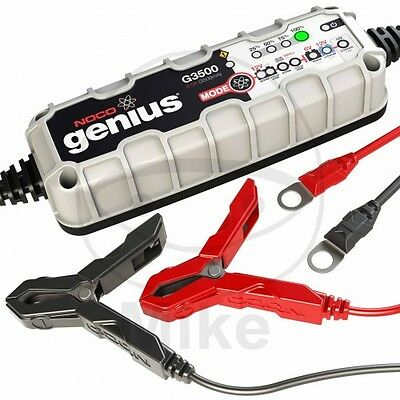 Noco Genius G3500 6V/12V 3.5A Battery Charger Lithium-Ion Compatible Atv Quad
