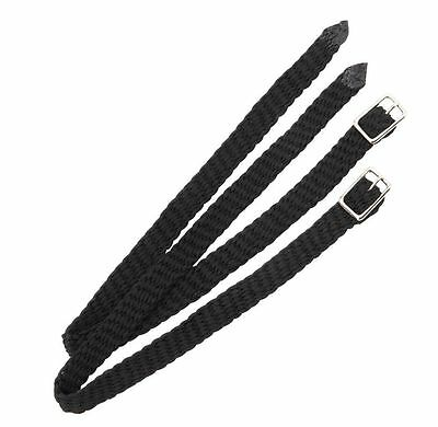 Shires Plaited Nylon Spur Straps(C)