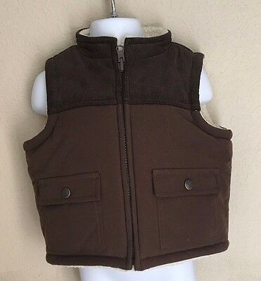 New Janie And Jack Reversible Baby Boys Vest 3 - 6 months