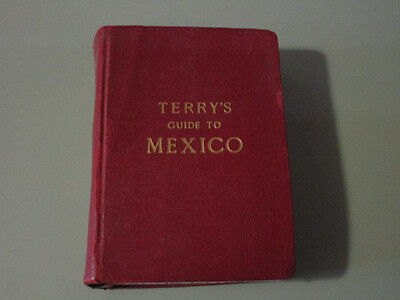 1938 Terry's Guide to Mexico