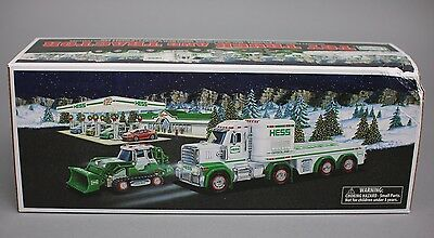 New Hess Truck 2013 Toy Truck And Tractor Damage Box