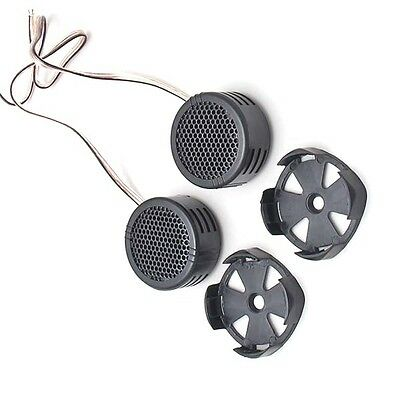 Quality 2 x 500 Watts Super Power Loud Dome Tweeter Speakers for Car 500W NEW