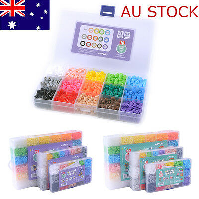 DIY 5mm 15 Colors Hama Perler Beads Christmas Gift Kids Craft Great Fun Box Set