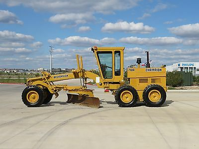 Champion (Volvo) 710A Motor Grader, 1-Owner! SEE VIDEO! Shipping available!