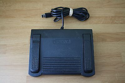 Infinity In-Usb-1 Dictation Transcription Foot Pedal Home Office Play Rew Fwd
