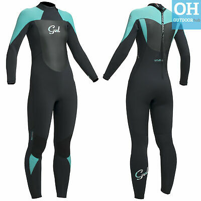 Gul Ladies Response 5/3mm Winter Wetsuit Blindstitched Womens Full Steamer 5mm